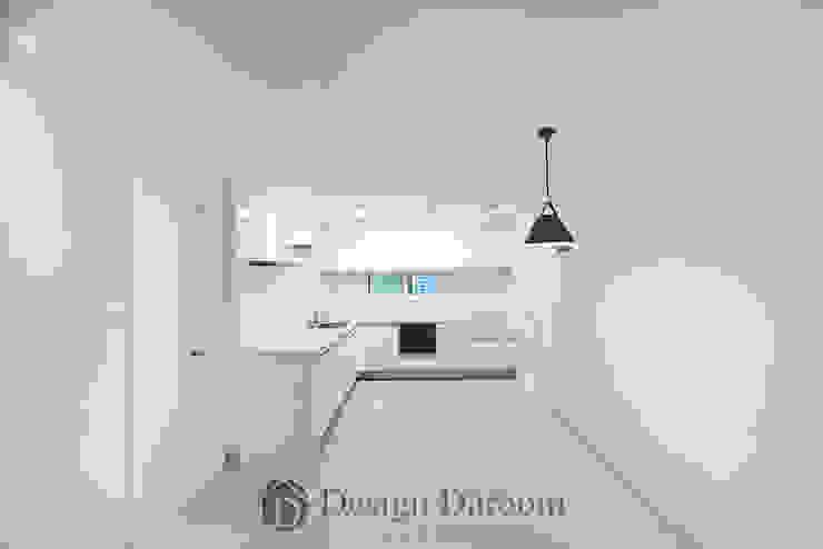 일산 성원3차 아파트 주방 모던스타일 주방 by Design Daroom 디자인다룸 모던