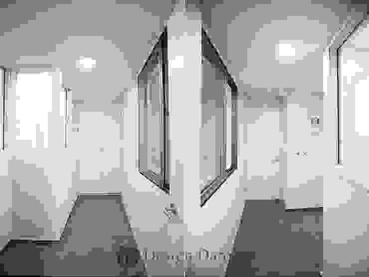 일산 성원3차 아파트 다용도실 모던스타일 발코니, 베란다 & 테라스 by Design Daroom 디자인다룸 모던