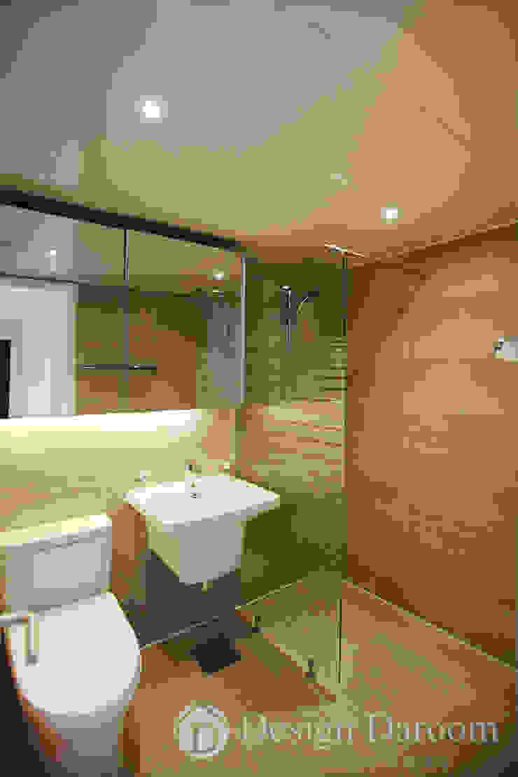 일산 성원3차 아파트 거실욕실 모던스타일 욕실 by Design Daroom 디자인다룸 모던