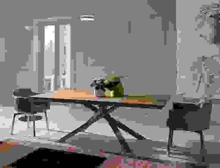 餐廳家具配置: 現代  by Hefeng furniture, 現代風 塑木複合材料