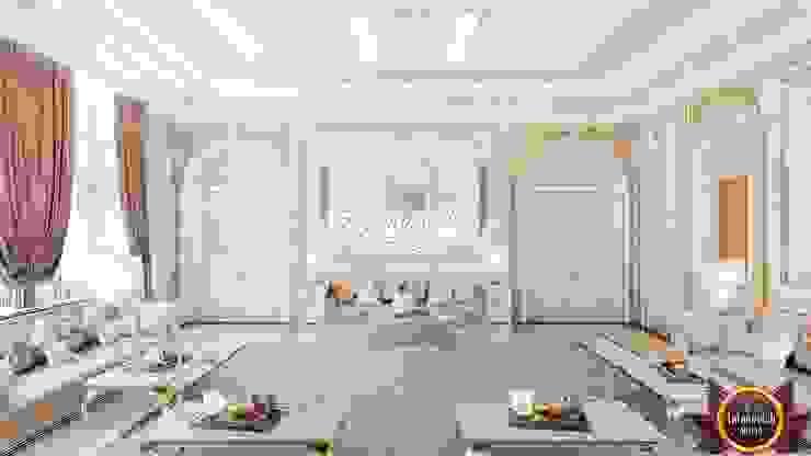 Living room in the oriental style from Katrina Antonovich by Luxury Antonovich Design Asian
