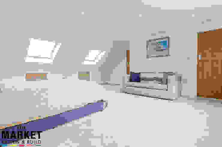 Stunning North London Home Extension & Loft Conversion The Market Design & Build Cuartos de estilo moderno