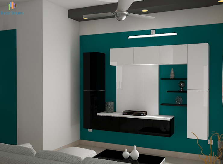Salones de estilo moderno de DECOR DREAMS Moderno