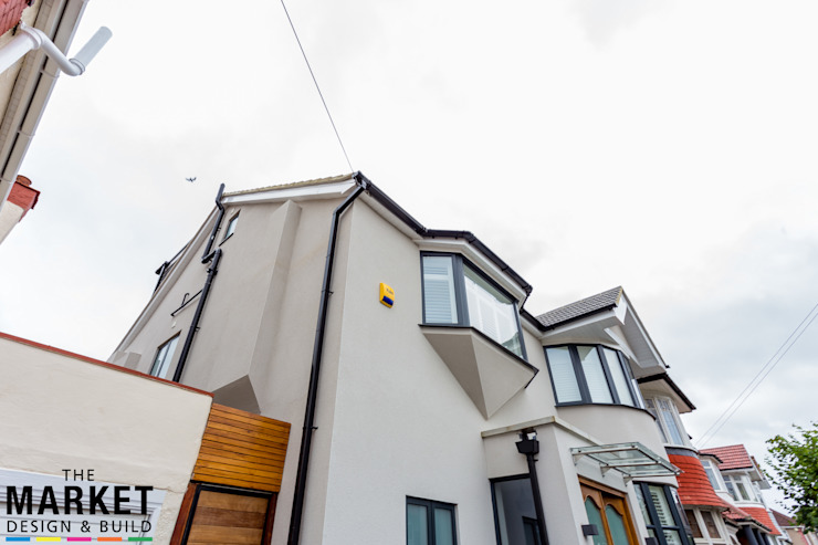 Stunning North London Home Extension & Loft Conversion The Market Design & Build Casas modernas