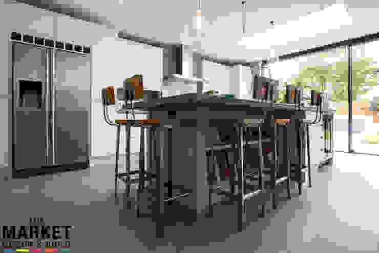Stunning North London Home Extension & Loft Conversion The Market Design & Build Comedores de estilo moderno