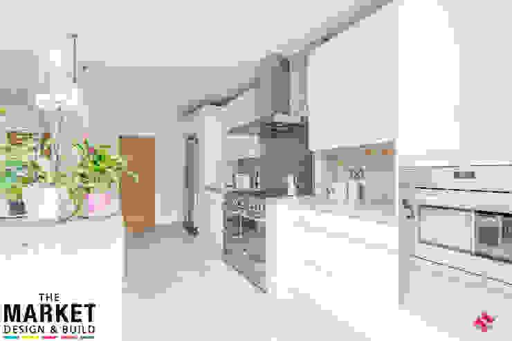 Stunning North London Home Extension & Loft Conversion The Market Design & Build Cocinas de estilo moderno