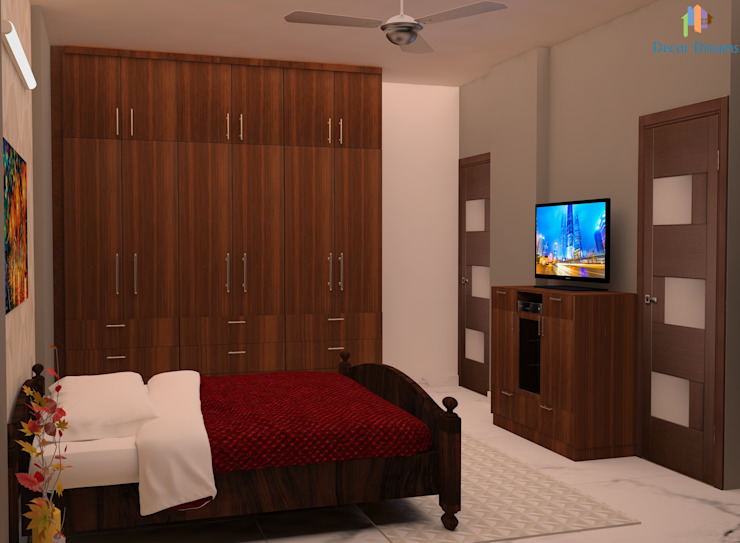 Quartos modernos por DECOR DREAMS Moderno