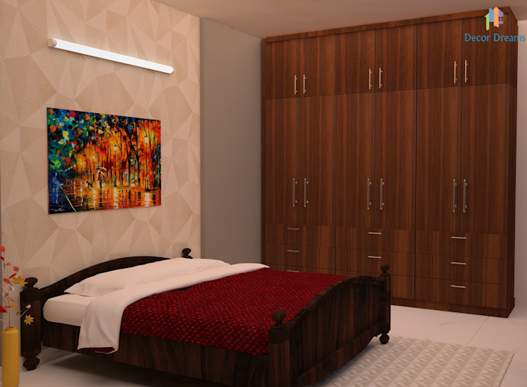 TOE TREE APPARTMENTS Modern style bedroom by DECOR DREAMS Modern