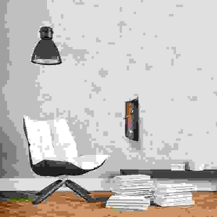 Tothora Wallsurf Pendulum Clock - Wenge: modern  by Just For Clocks,Modern Wood Wood effect
