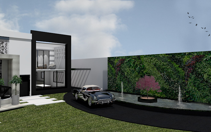 "Residencial ""Nieto"" Casas modernas de Estudio AL - Arquitectura-Diseño Interior Moderno"