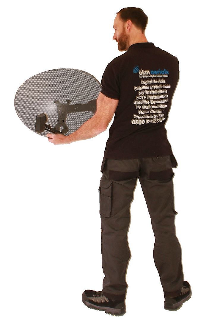 Satellite installations Minchinhampton Minchinhampton Aerials Elektronik Metall Schwarz