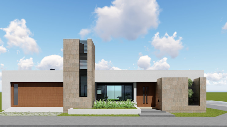 CASA HD Minimalist house by ARBOL Arquitectos Minimalist