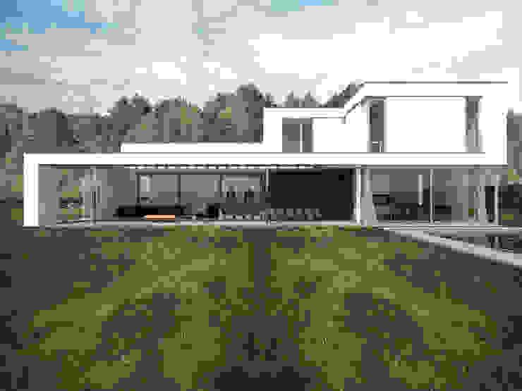 villa CvH van Swkls Architects Modern