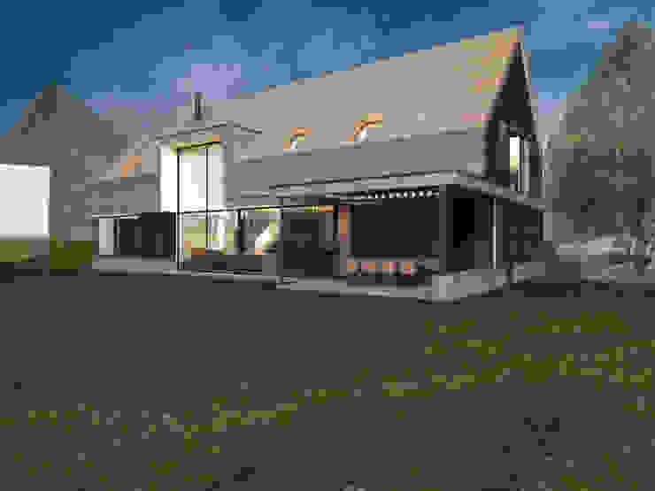 bởi Swkls Architects Hiện đại Gỗ Wood effect