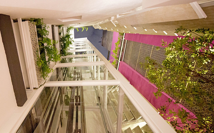 CD8 - Boué Arquitectos Pasillos, vestíbulos y escaleras modernos de Boué Arquitectos Moderno