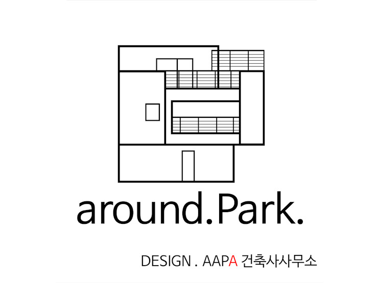 around. Park.: AAPA건축사사무소의 현대 ,모던