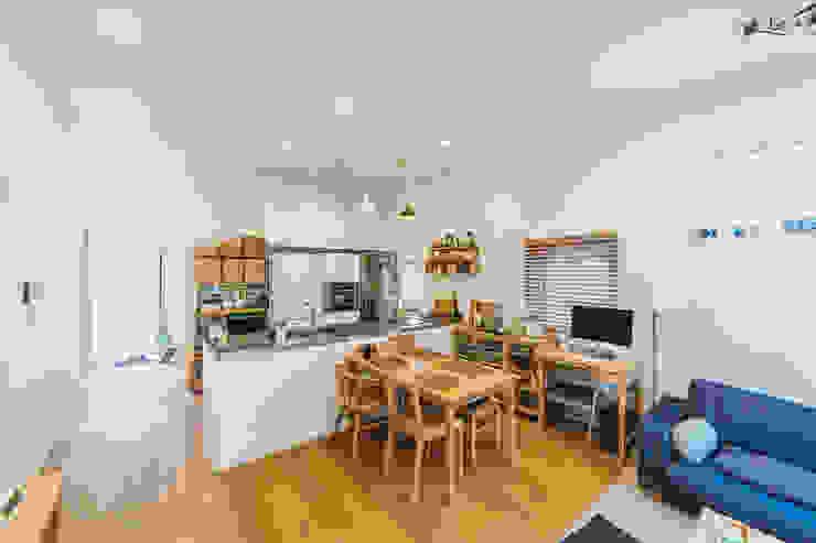 ห้องครัว โดย AAPA건축사사무소, โมเดิร์น