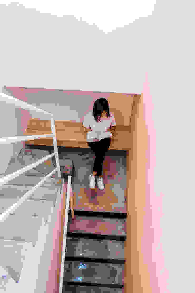 청향실(聽香室) 모던스타일 복도, 현관 & 계단 by AAPA건축사사무소 모던