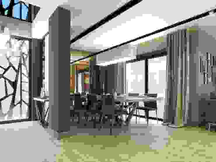 Symphony Villa – Güzelbahçe İzmir Modern Yemek Odası VERO CONCEPT MİMARLIK Modern