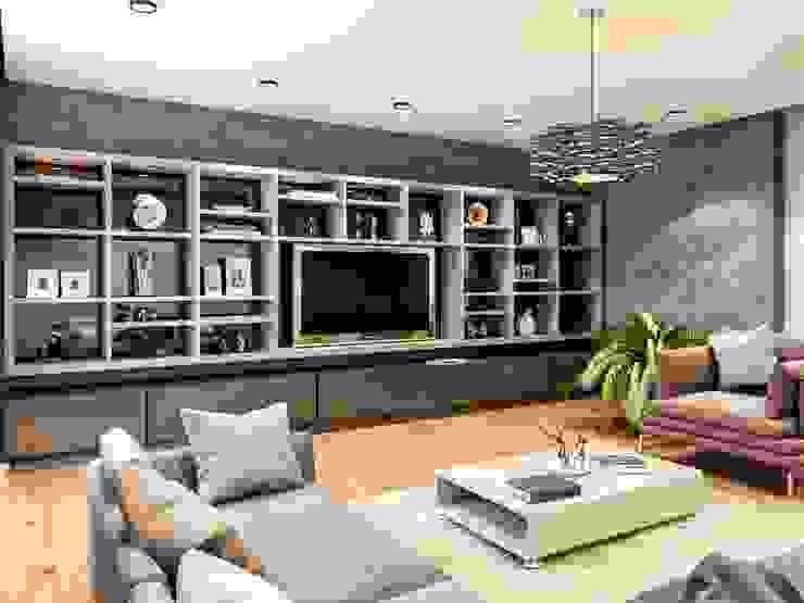 Symphony Villa – Güzelbahçe İzmir Modern Multimedya Odası VERO CONCEPT MİMARLIK Modern