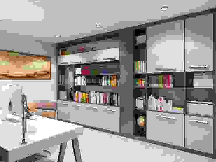 Study/office by VERO CONCEPT MİMARLIK, Modern