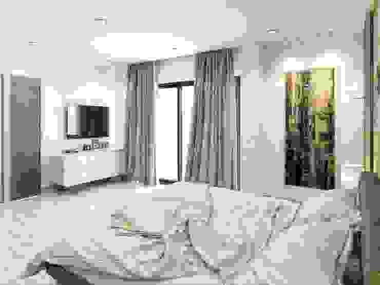 Symphony Villa – Güzelbahçe İzmir Modern Yatak Odası VERO CONCEPT MİMARLIK Modern