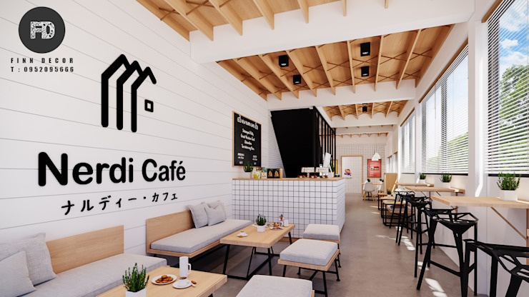 Nerdi cafe' // สุรินทร์ โดย finndecor