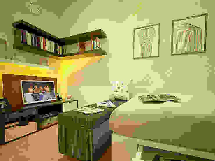 Tipe Studio Ruang Keluarga Modern Oleh SEKALA Studio Modern