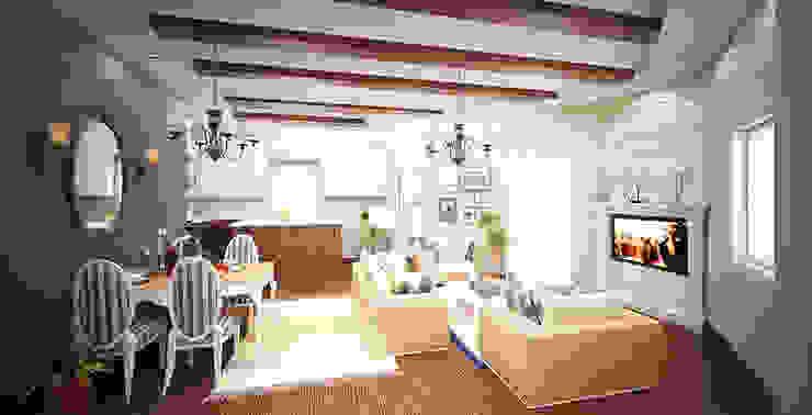 Ruang Keluarga oleh Rêny , Modern