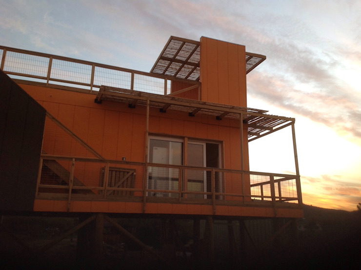 hola de Arquitectura Amanda Perez Feliú Mediterráneo Derivados de madera Transparente