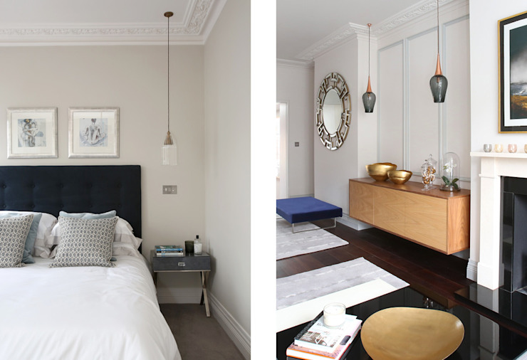 Converted Period House Modern style bedroom by Corebuild Ltd Modern