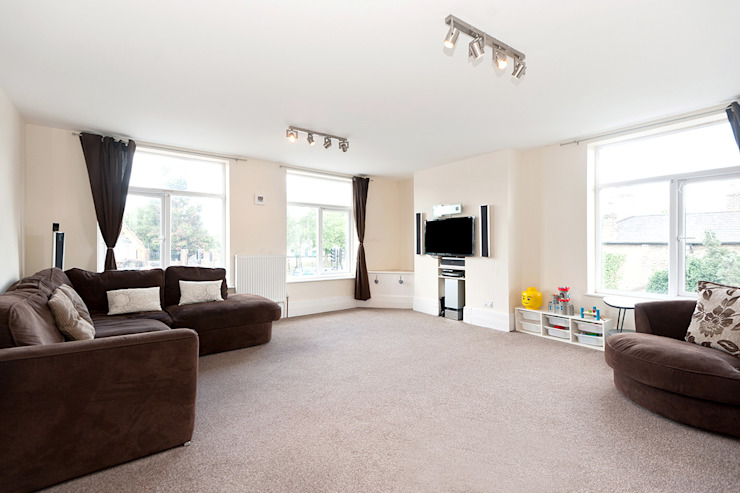 Property Conversion Modern living room by Corebuild Ltd Modern