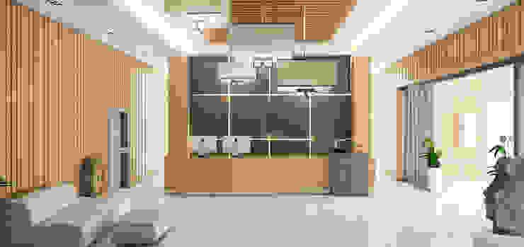 Pasillos, vestíbulos y escaleras modernos de HEAD DESIGN Moderno