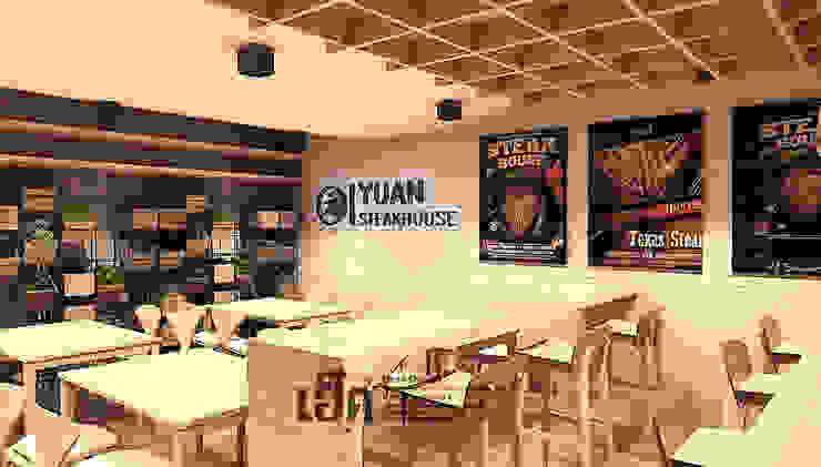 YUAN Steak Ubon โดย HEAD DESIGN ผสมผสาน