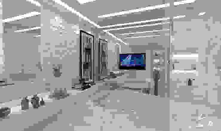Baños de estilo moderno de LARISSA REIS ARQUITETURA Moderno