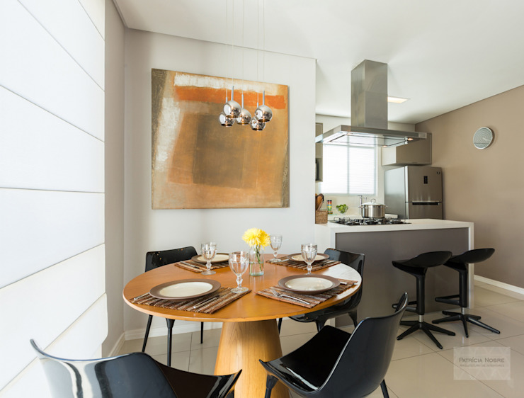 Sala & Cozinha - Por Patrícia Nobre por Patrícia Nobre - Arquitetura de Interiores Moderno