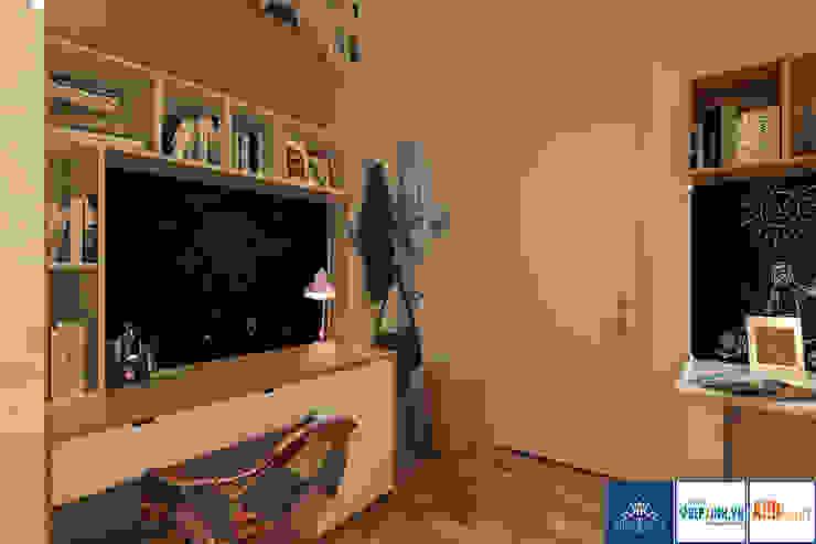 現代  by Công ty TNHH thiết kế nội thất KingPlace, 現代風