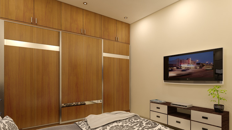 MASTER BEDROOM Modern style bedroom by BENCHMARK DESIGNS Modern
