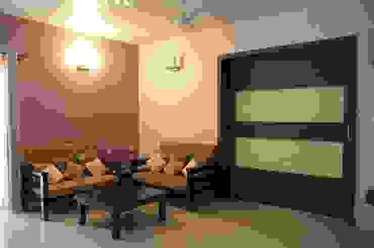LIVING Modern living room by BENCHMARK DESIGNS Modern Plywood