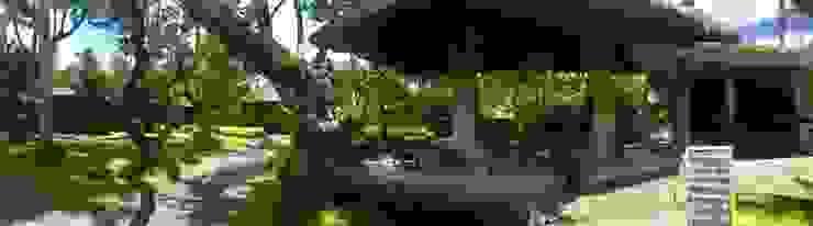 WaB - Wimba anenggata architects Bali Eclectic style hotels Wood