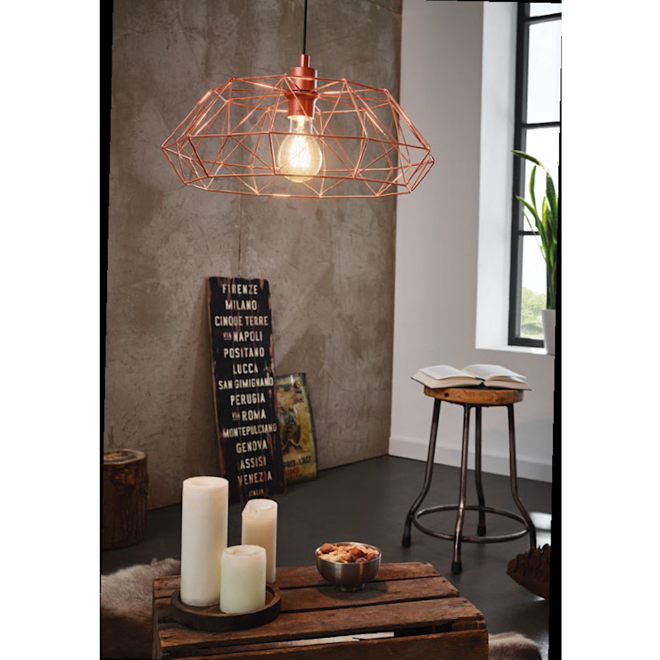 de estilo industrial por Mlamp , Industrial Metal