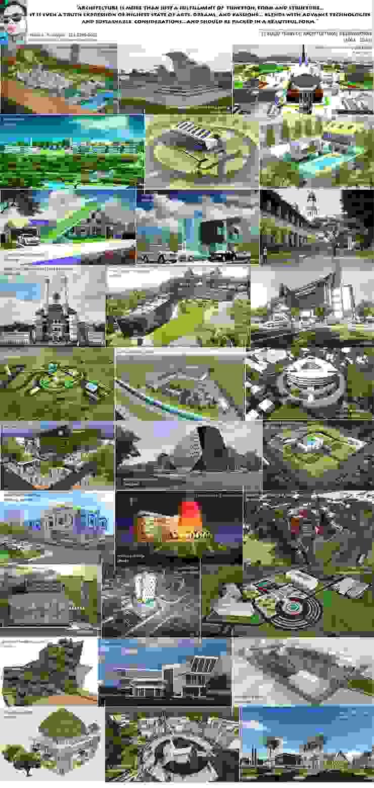Offices Bangunan Kantor Modern Oleh HM+ Architects&Engineers Modern Beton