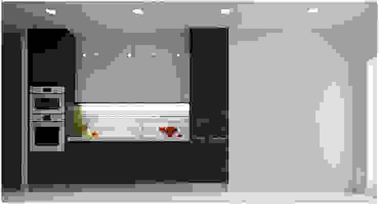 Kitchen Nhà bếp phong cách châu Á bởi Công ty TNHH TMDV Decor KT Châu Á