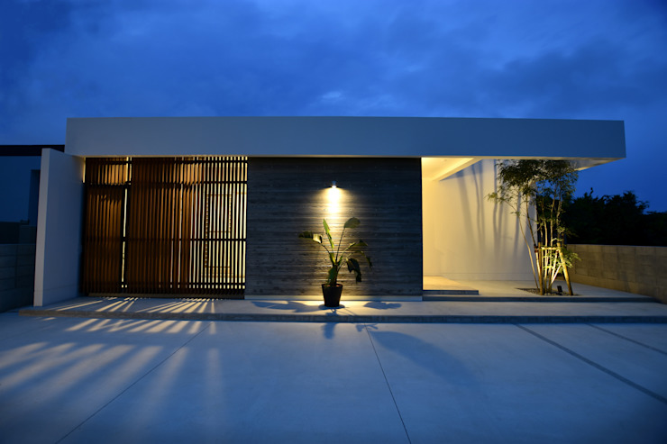 Style Create Modern houses Reinforced concrete White