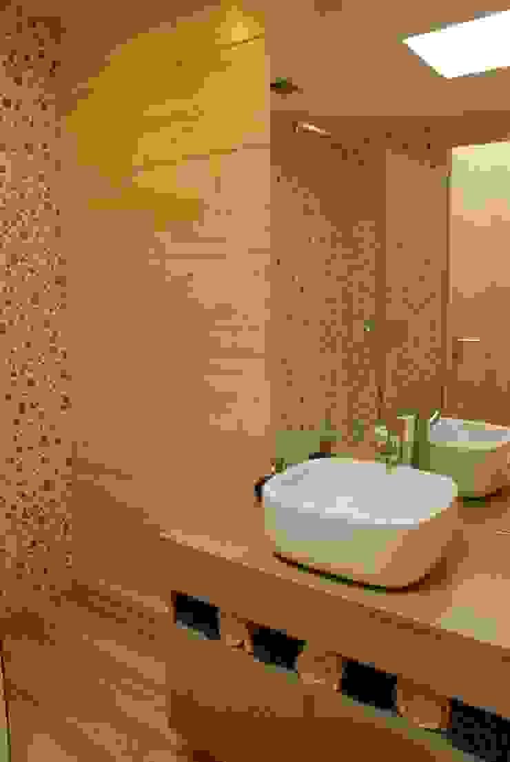 Kamar Mandi Modern Oleh Rusticasa Modern Kayu Wood effect