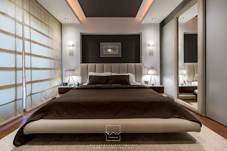 bedroom by raydesigns Camera da letto moderna di RayDesigns Moderno