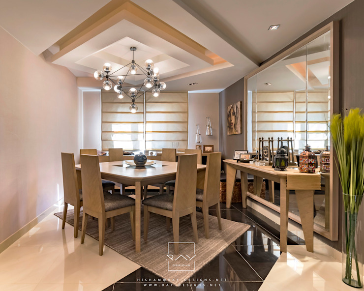 dinning room by raydesigns RayDesigns Modern Dining Room