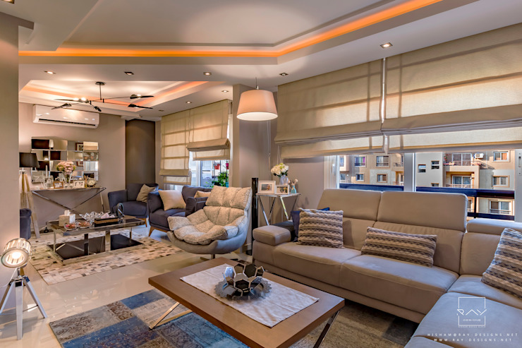 living room reception by raydesigns Modern living room by RayDesigns Modern