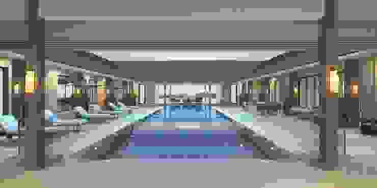luxurious private residence in Phuket, Thailand. โดย Kvell Studio