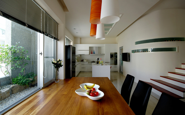 台南12號住宅 根據 築青室內裝修有限公司 現代風